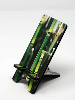 Phone stand showing horsetail